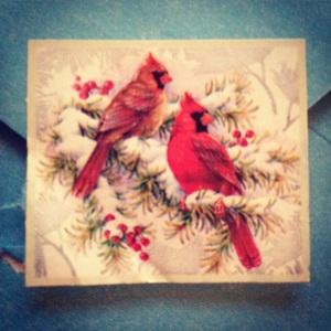 Cardinal Stamp