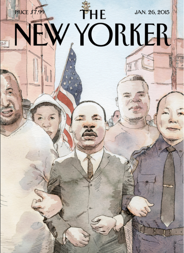 Jan 2015 New Yorker Cover